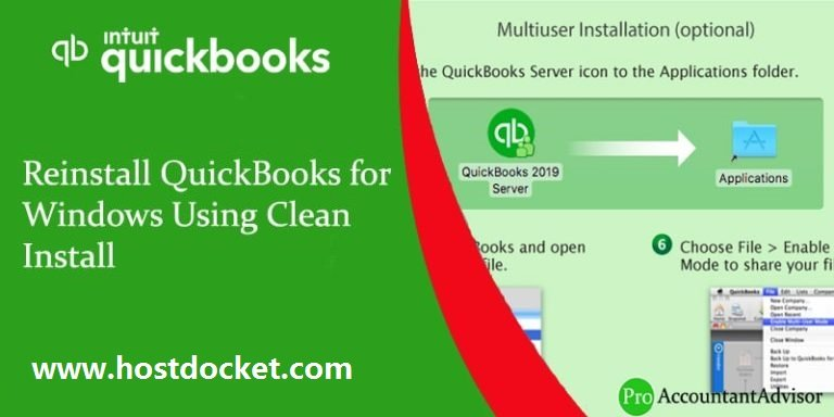 Reinstall QuickBooks for Windows Using Clean Install