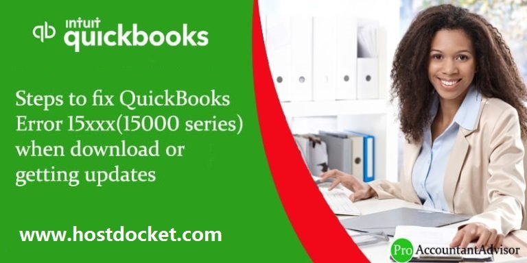 QuickBooks Error 15xxx When Downloading or Getting Updates