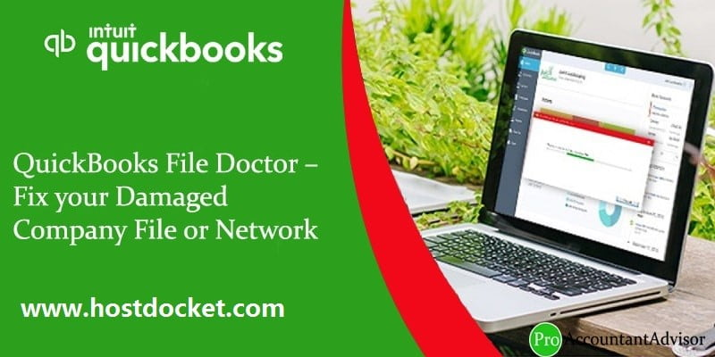 QuickBooks File Doctor Fix your Damaged Company File or Network