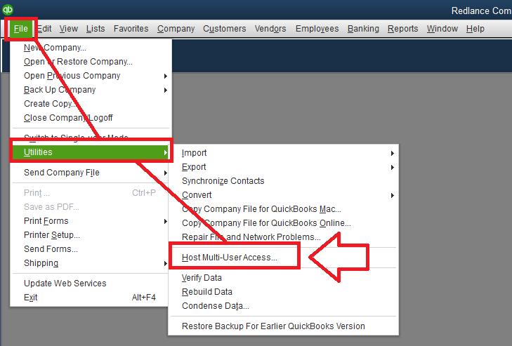 Stop Multi-user access - Screenshot