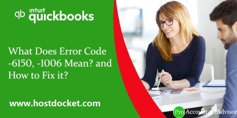 What Does Error Code-6150,-1006 Mean and How to Fix it