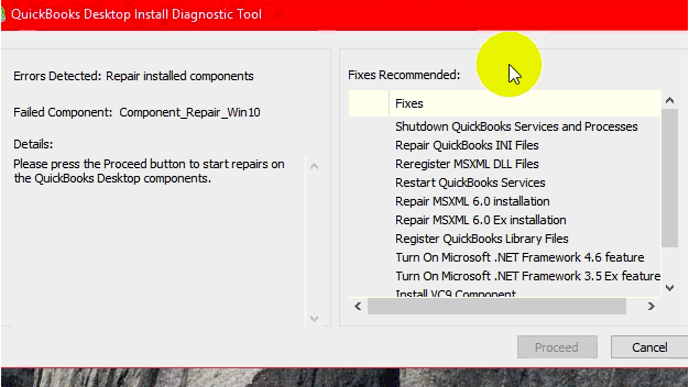 Download QuickBooks Installation Diagnostic Tool - Screenshot