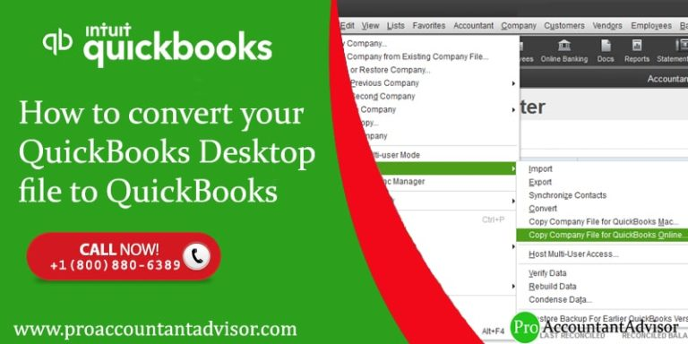 How to convert your QuickBooks Desktop file to QuickBooks Online