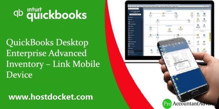 QuickBooks Desktop Enterprise Advanced Inventory–Link Mobile Device