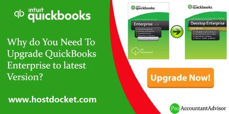Why do You Need To Upgrade QuickBooks Enterprise to latest Version