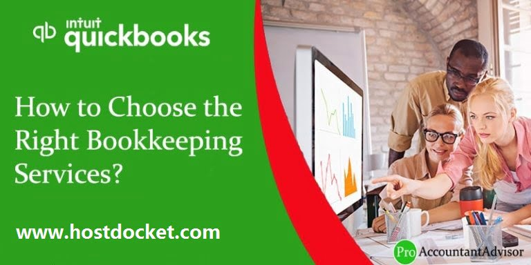 How to Choose the Right Bookkeeping Services