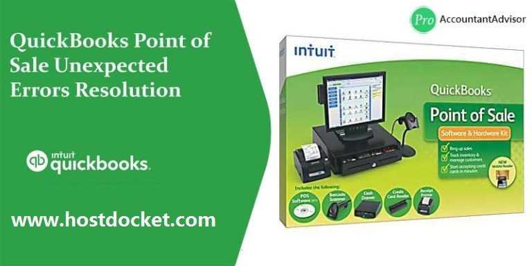QuickBooks Point of Sale Unexpected Errors Resolution