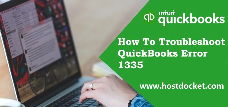 How To Troubleshoot QuickBooks Error 1335