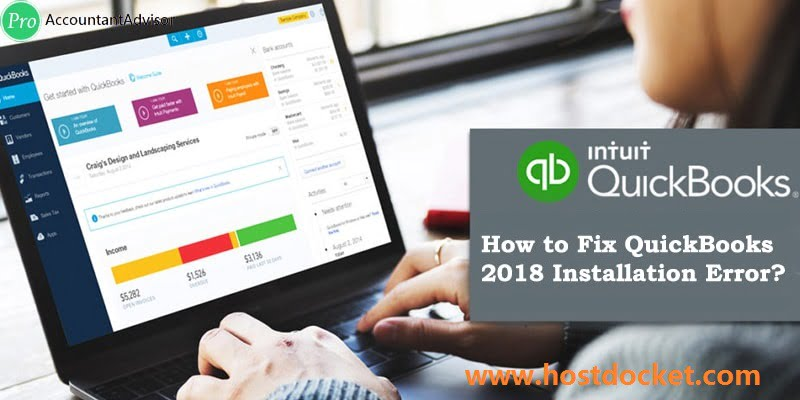 How to Fix QuickBooks 2018 Installation Errors