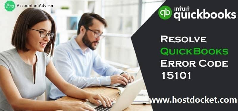 Resolve QuickBooks Error Code 15101