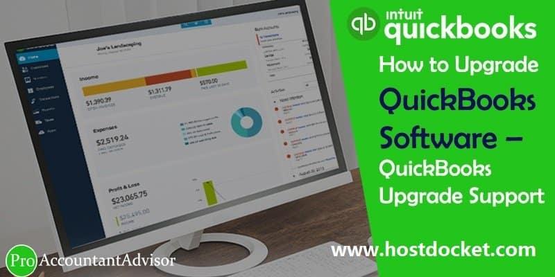 How to Upgrade QuickBooks Software–QuісkВооks Uрgrаdе Ѕuрроrt