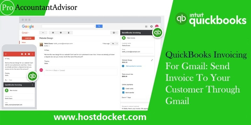 How to Setup QuickBooks Invoicing For Gmail: Send Invoice to Your Customer Through Gmail