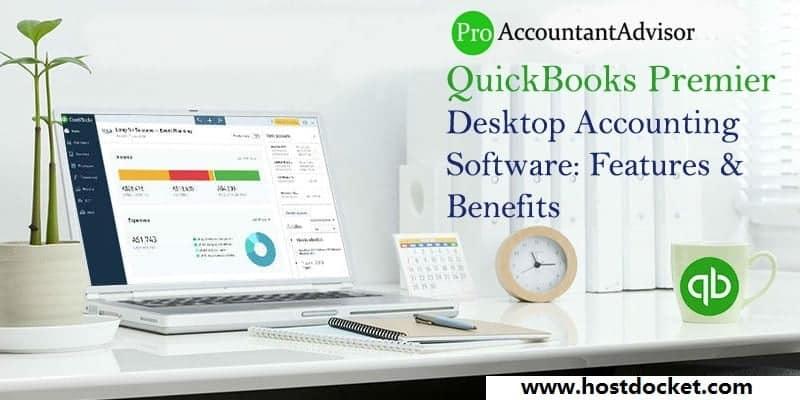 QuickBooks Premier Desktop Accounting Software-Features-Benefits