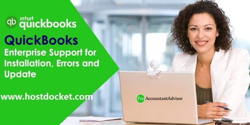 QuickBooks Enterprise Support for Installation, Errors and Update-Pro- Accountant Advisor