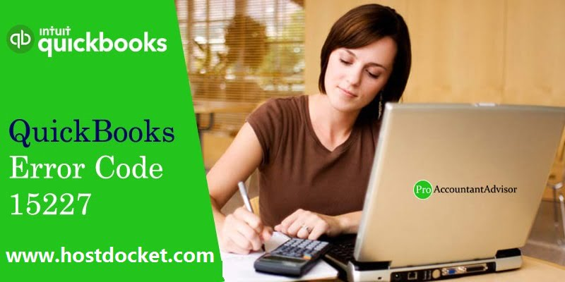 QuickBooks Error Code 15227-Pro Accountant Advisor