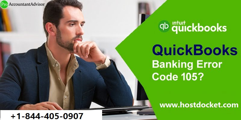QuickBooks Banking Error Code 105-Pro Accountant Advisor