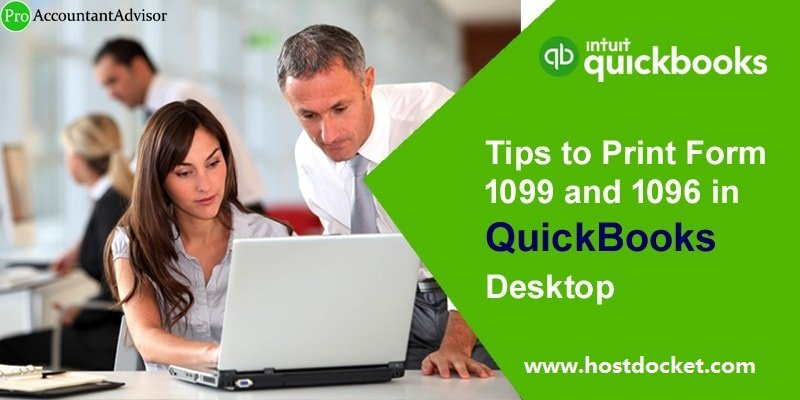 Tips to Print Form 1099 and 1096 in QuickBooks Desktop-Pro Accountant Advisor