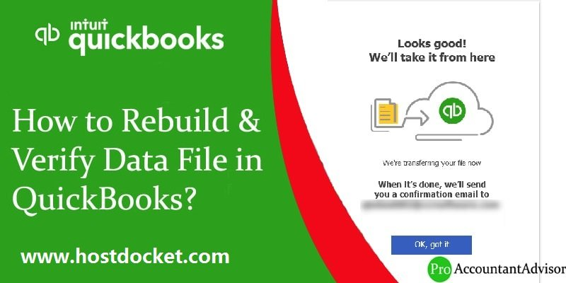 How to Rebuild-Verify Data File in QuickBooks-Pro-Accountant-Advisor