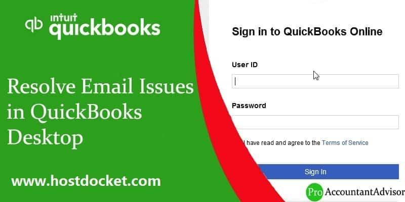 Resolve Email Issues in QuickBooks Desktop-Pro-Accountant-Advisor