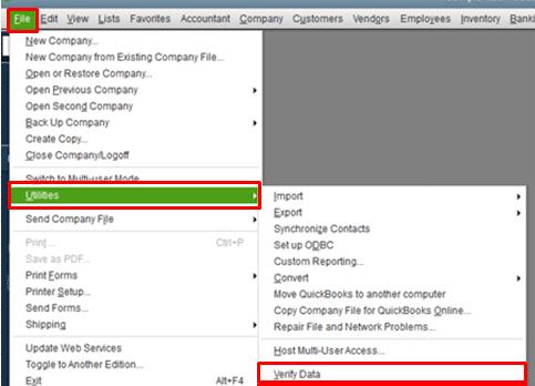 Verify data utility - Screenshot