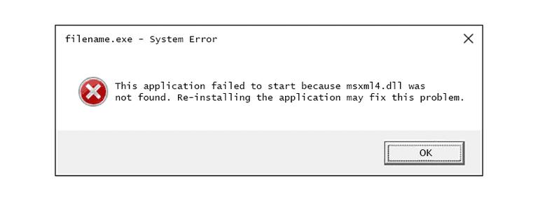 Fix to repair MSXML 4.0 - Screenshot