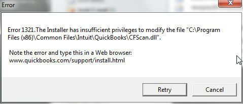QuickBooks Error Code 1321 - Learn How to Fix, Resolve It?