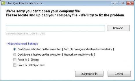 Error of File Doctor Not Working