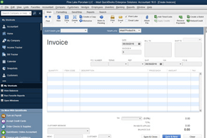 QuickBooks Create an invoice Pro Accountant Advisor