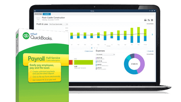 QUickbooks Enhanced payroll