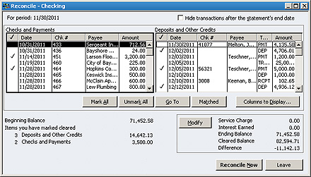 Tips & Trick Reconciliation in QuickBooks