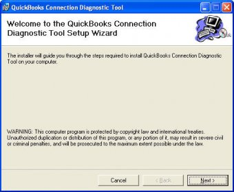 quickbooks connection diagnostic tool 8.0