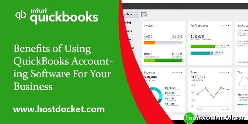 Benefits of Using QuickBooks Accounting Software For Your Business