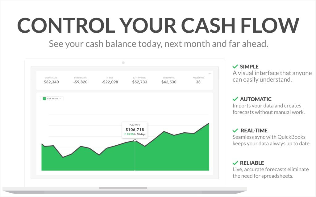 Control Cash Flow - Screenshot