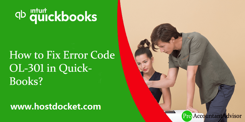 What are the Steps to Fix Error Code OL-301 in QuickBooks - Featured Image