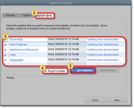 How to update quickbooks - Automatic update (Screenshot)