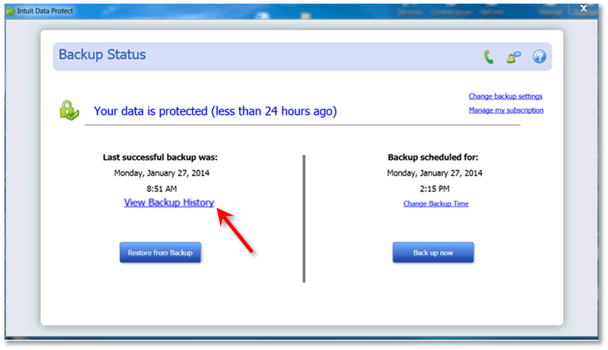 Intuit Data Protect - New Features in QuickBooks Desktop 2019