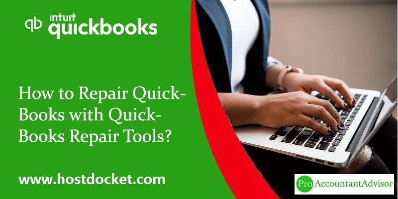 Repair QuickBooks with QuickBooks Repair Tools - Featured Image