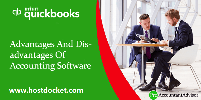 Advantages And Disadvantages of Accounting Software - Featured Image