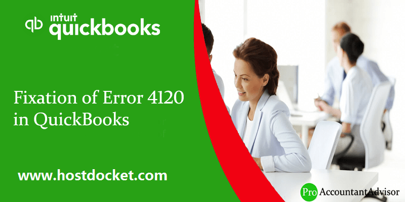 How to Fix Error code 4120 in QuickBooks - Featured Image
