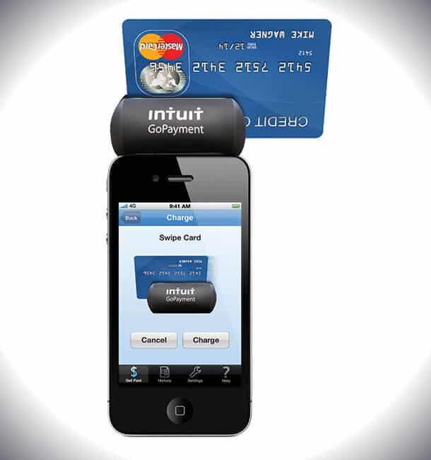 Intuit QuickBooks Gopayment mobile app