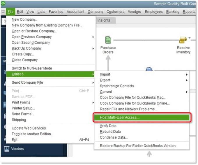 Verify-hosting-in-QuickBooks-Screenshot
