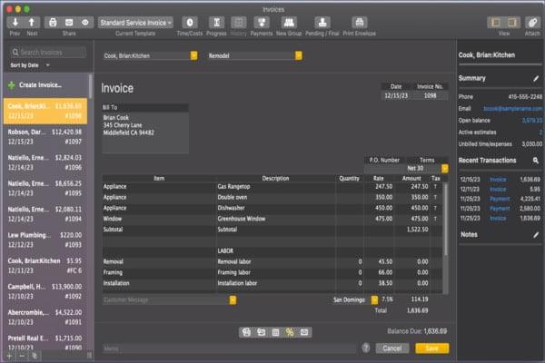 Dark mode feature - Screenshot