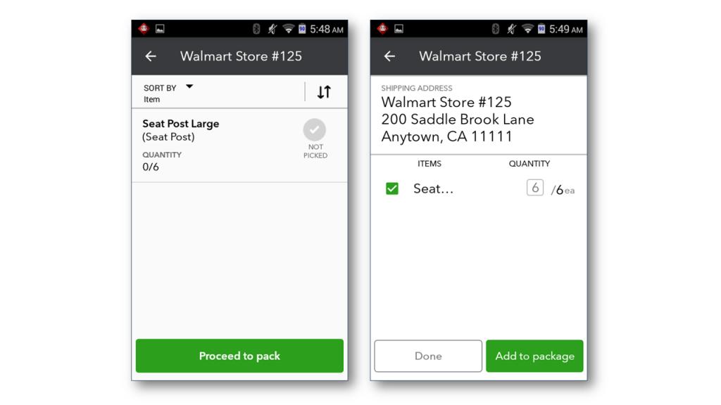 Express pick-pack - Screenshot 3