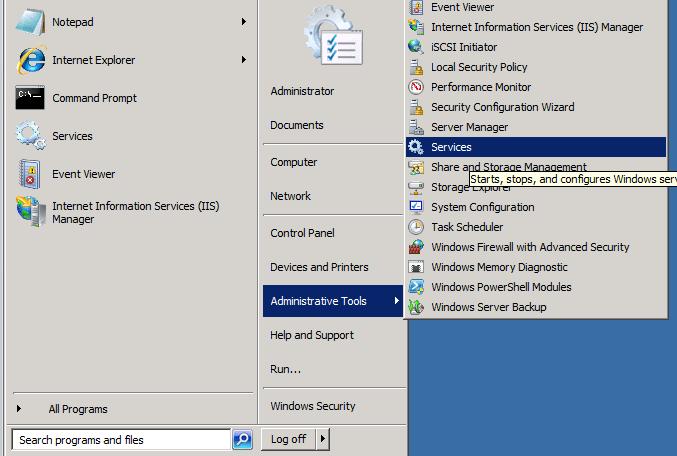 QBDBSM Install on the Server or Host - Screenshot