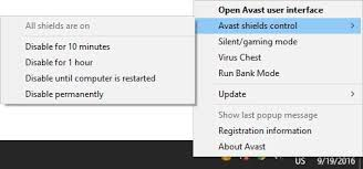 Temporarily turn off antivirus software and reinstall or update - Screenshot