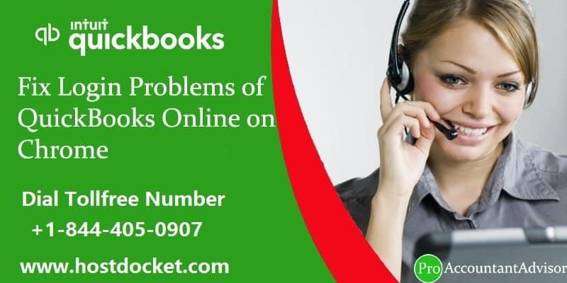 Fix Login Problems of QuickBooks Online on Chrome-Proaccountantadvisor