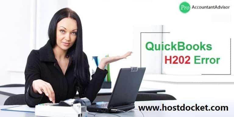QuickBooks Error H202–Multi User Switching Error