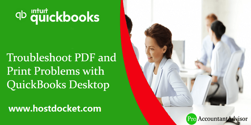 Resolve PDF and Print Problems with QuickBooks Desktop - Featured Image