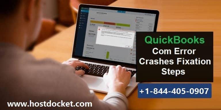 Solutions to Com Error Crashes in QuickBooks