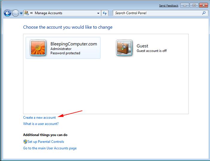 new window admin user- screenshot